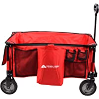 Deals on Ozark Trail Folding Wagon with Telescoping Handle