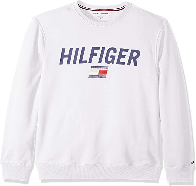 Tommy Hilfiger 汤米希尔费格 男式运动圆领卫衣 XL码 3.5折$31.66 海淘转运到手约¥281