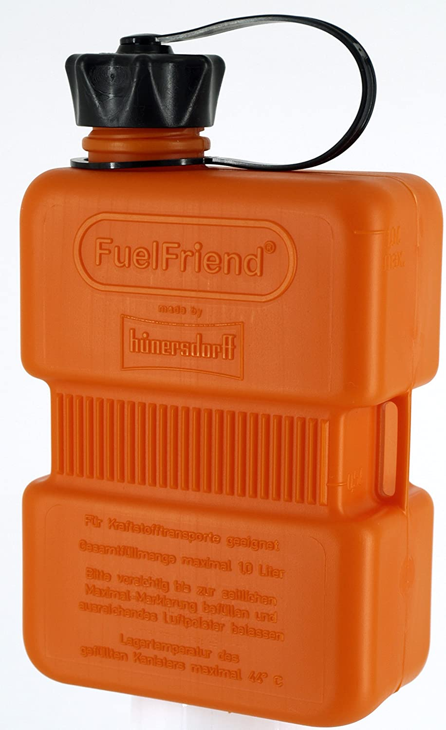 FuelFriend®-Plus Orange - Series Especiales - Bidón 1.5 litros + caño bloqueable: Amazon.es: Coche y moto