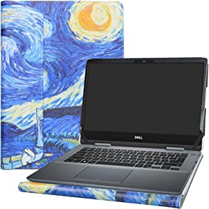 """Alapmk Protective Case Cover for 14"""" Dell Inspiron 14 2-in-1 5482 5485 5491/Dell Inspiron Chromebook 14 2-in-1 7486 c7486 & HP mt45/HP mt44 Laptop[Note:Not fit Inspiron 14 2-in-1 5481],Starry Night"""