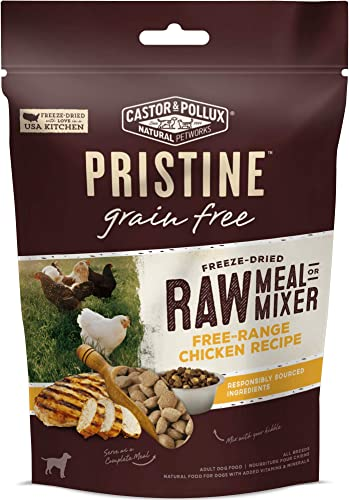 Castor Pollux Pristine Grain Free Range Chicken Freeze Dried Dog Food