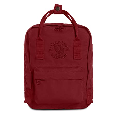 Fjallraven – Kanken, Re-Kanken Mini Recycled Backpack for Everyday Use, Heritage and Responsibility Since 1960