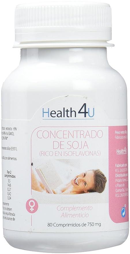 H4U - Isoflavonas de Soja, 80 comprimidos, 750 mg