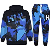 A2Z 4 Kids® Kids Boys Tracksuit HNL Print Camouflage Hoodie & Botom Jog Suit New Age 7 8 9 10 11 12 13 Years