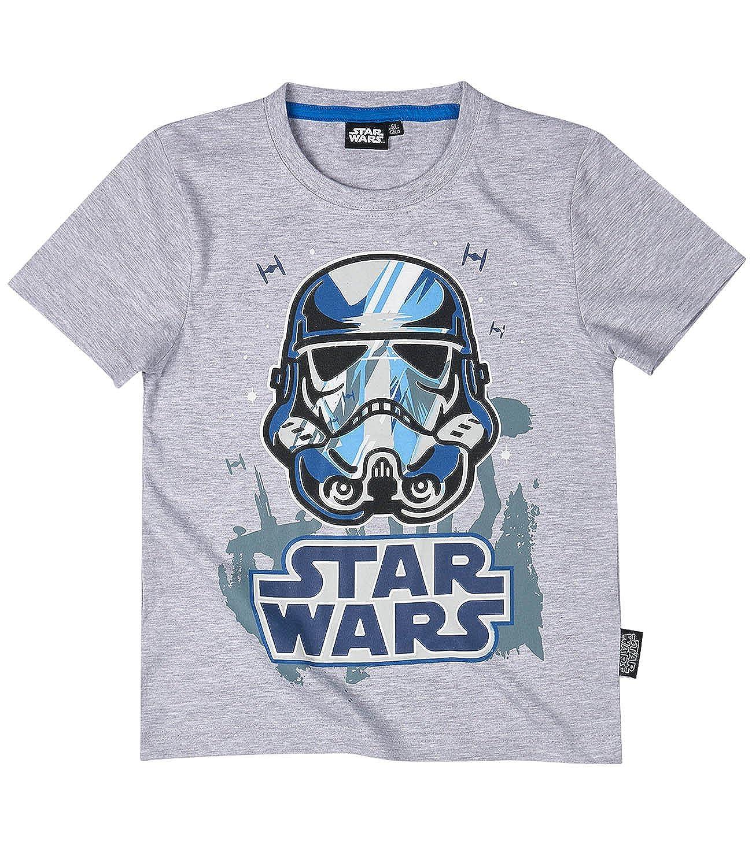 Star Wars Jungen T-Shirt Grau