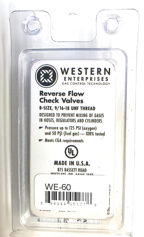 Western Enterprises Check Valve Pack Check Valves Category 312-WE-60