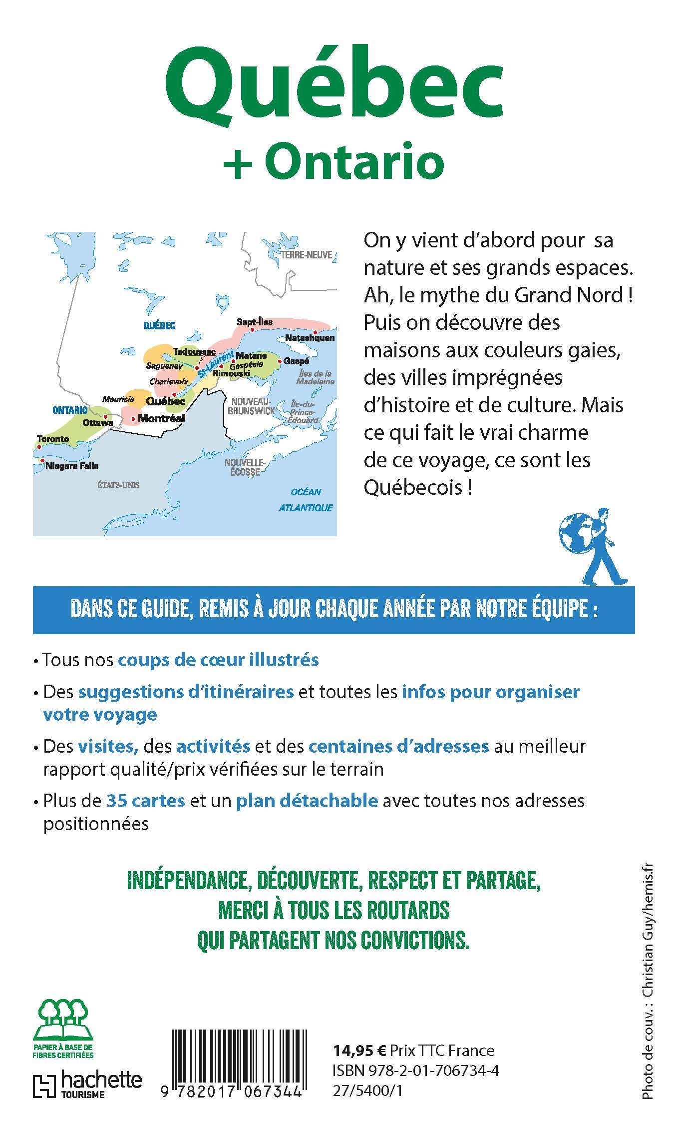 Québec et Ontario (GUIDE DE VOYAGE) (French Edition)