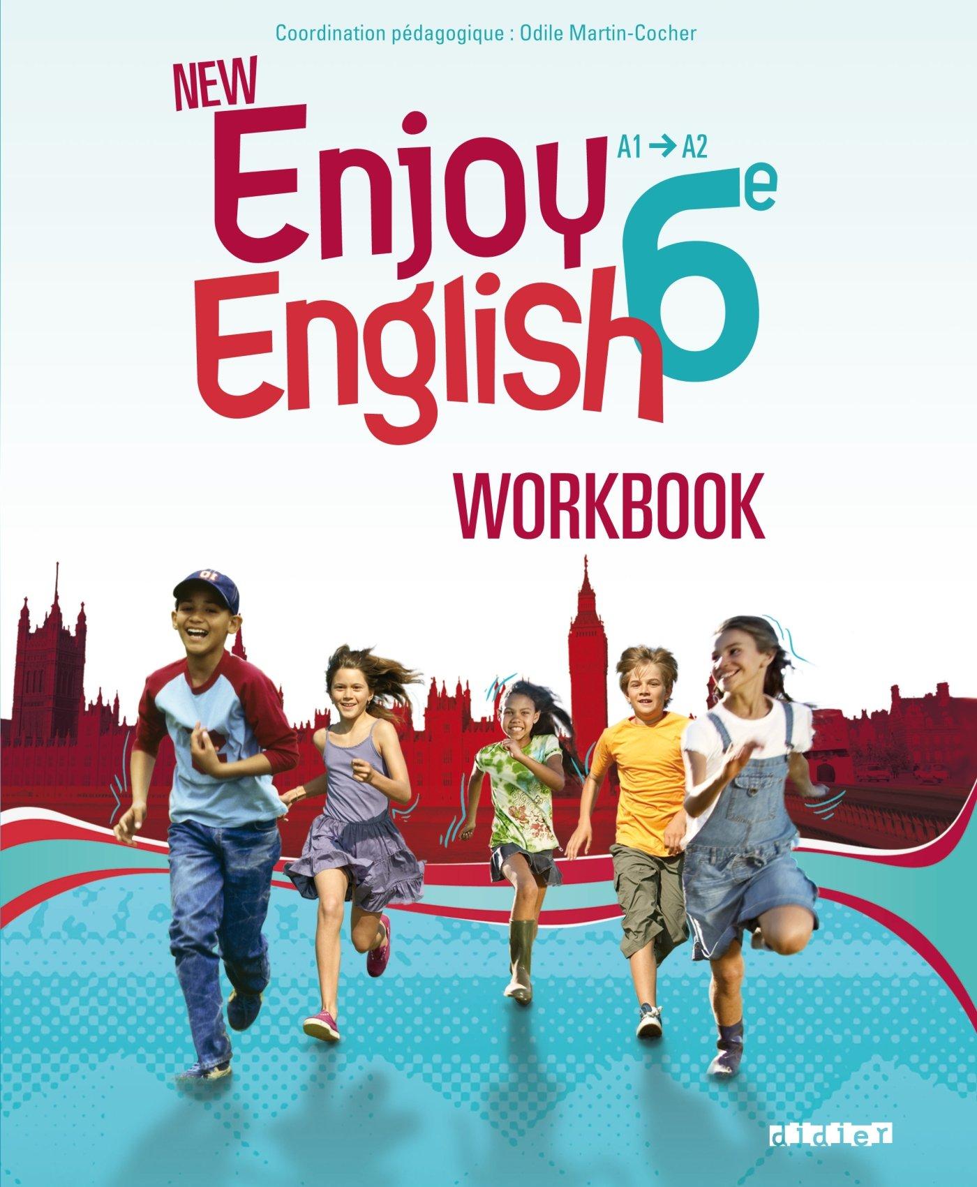 New Enjoy English 6e - Workbook Broché – 4 mai 2011 Sophie Plays Catherine Marcangeli Elodie Vialleton Odile Martin-Cocher