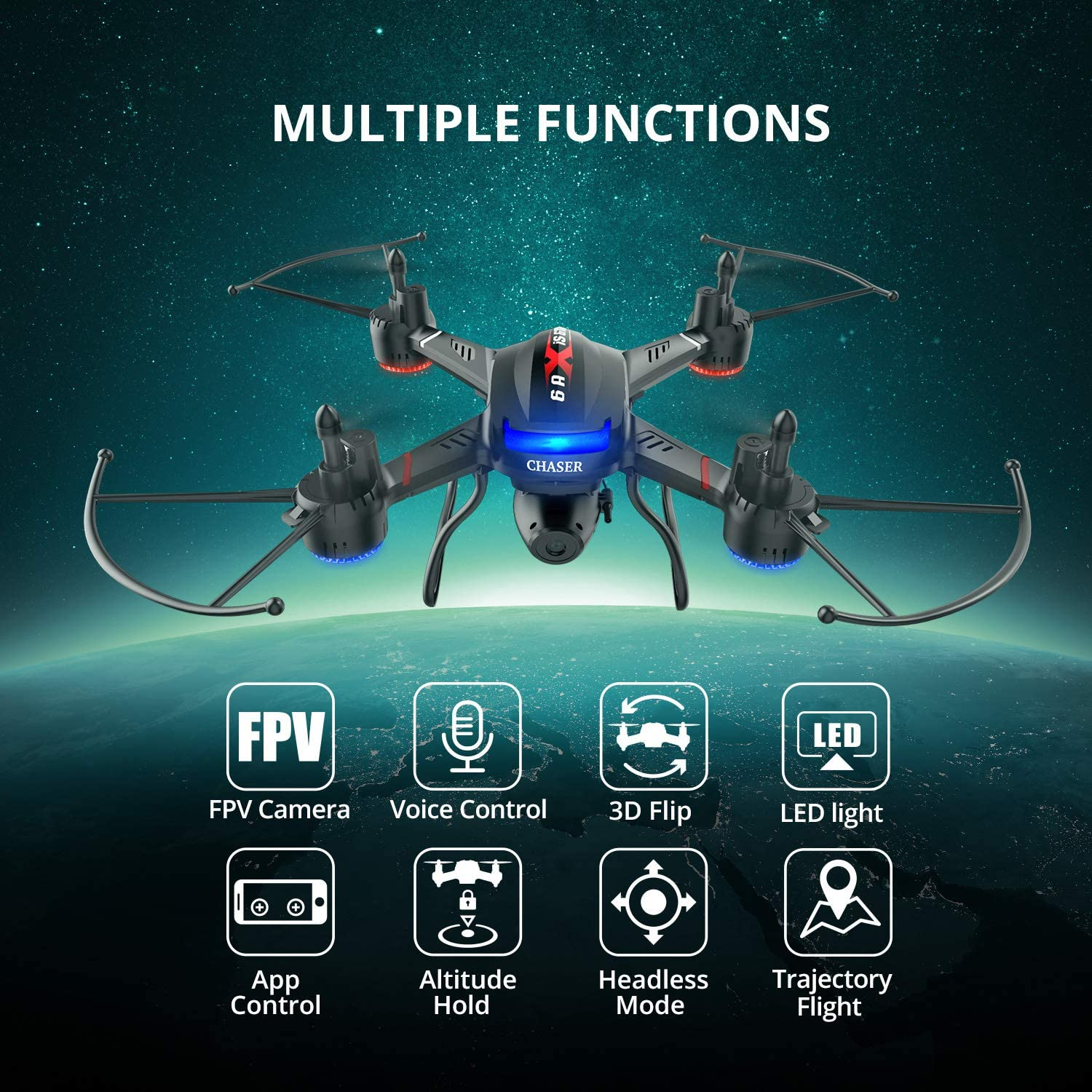 Holy Stone F181W Drone's review about its features