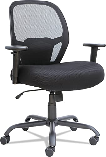 Alera Merix Series Mesh Big/Tall Mid-Back Swivel/Tilt Chair