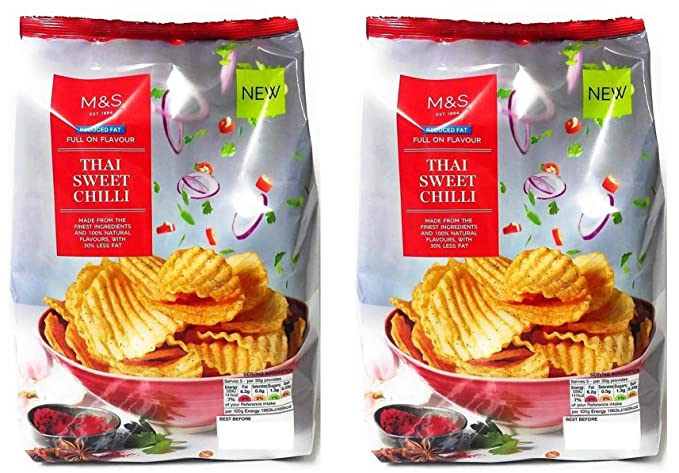 Marks And Spencer Reduced Fat Thai Sweet Chilli Crinkle