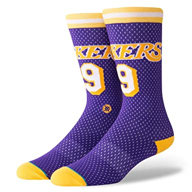 Stance Calcetines Nba Los Angeles Lakers 94 Hwc The Uncommon Thread morado/amarillo/blanco
