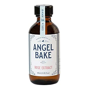 Angel Bake Rose Extract - Bulgarian. 2 fl oz.