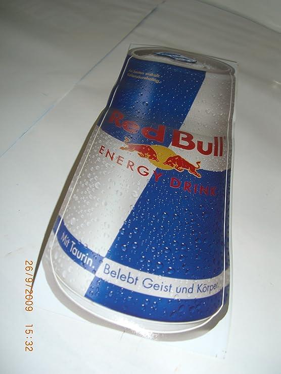 Red Bull Energy Dose Aufkleber Garten