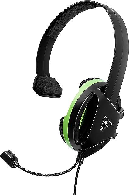 Turtle Beach Recon Chat Auriculares Gaming Xbox One, PS4, PS5, Nintendo Switch y PC, Negro: Amazon.es: Videojuegos
