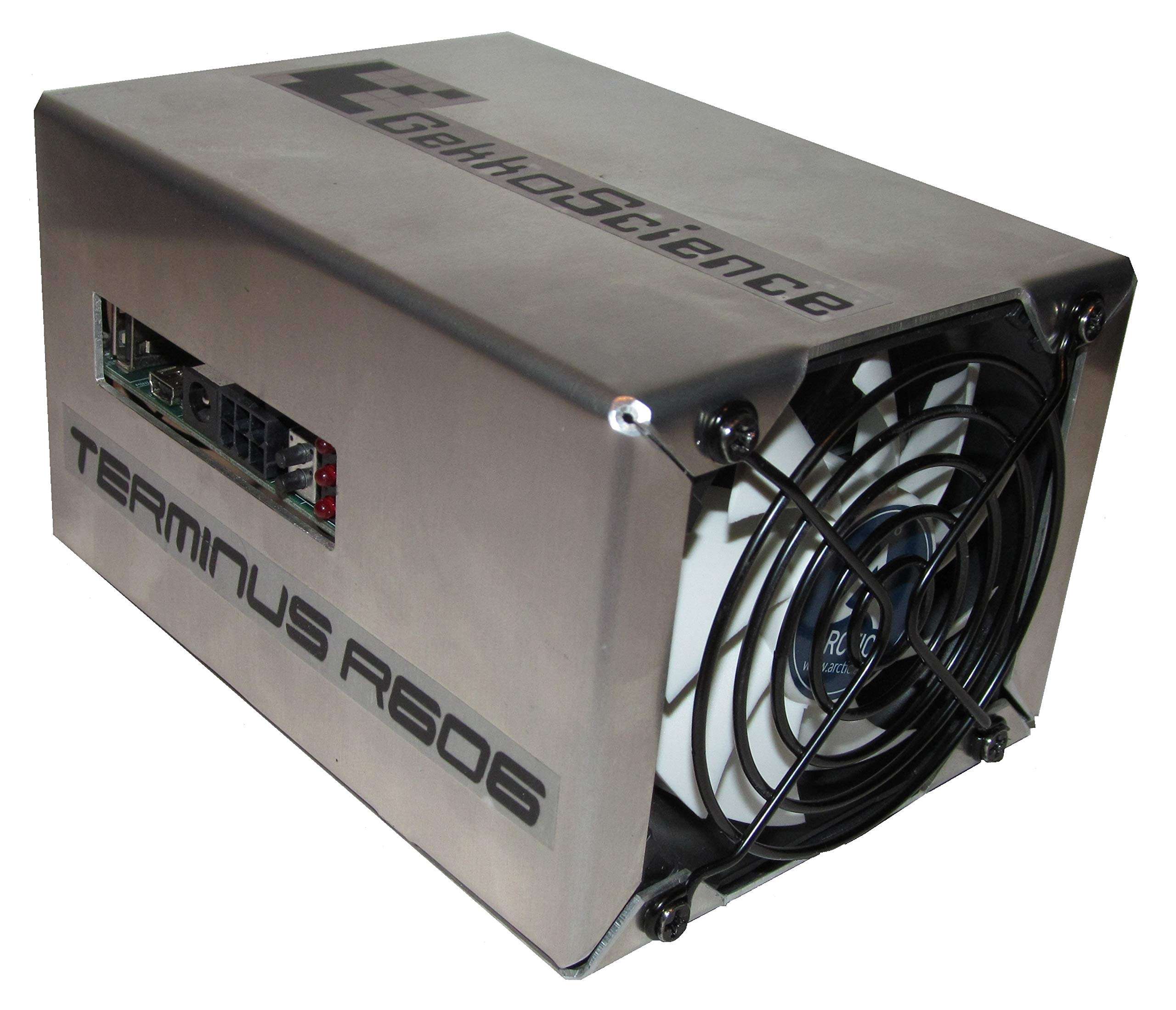 GekkoScience (up to) 1Th/s+ R606 Terminus USB Pod Miner/Bitcoin Miner (Only ~100W Power Consumption) Quiet, USB Miner, Great for Beginners & Experts (Most Efficient Bitcoin Miner Available)