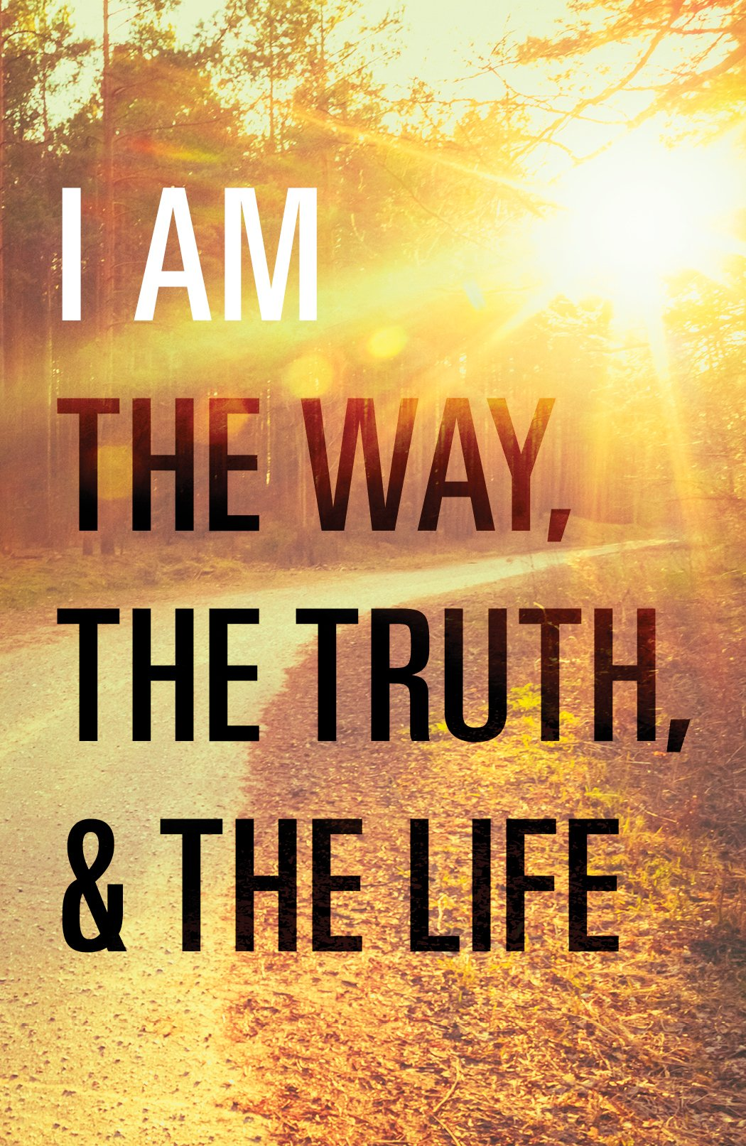 Read Online I Am the Way, the Truth, and the Life (Pack of 25) PDF