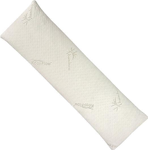King Snuggle-Pedic Shredded Memory Foam Pillow w// Bamboo Ultra-Luxury Cover