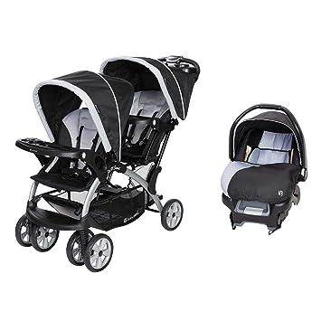 Amazoncom Baby Trend Sit N Stand Tandem Stroller Infant Car