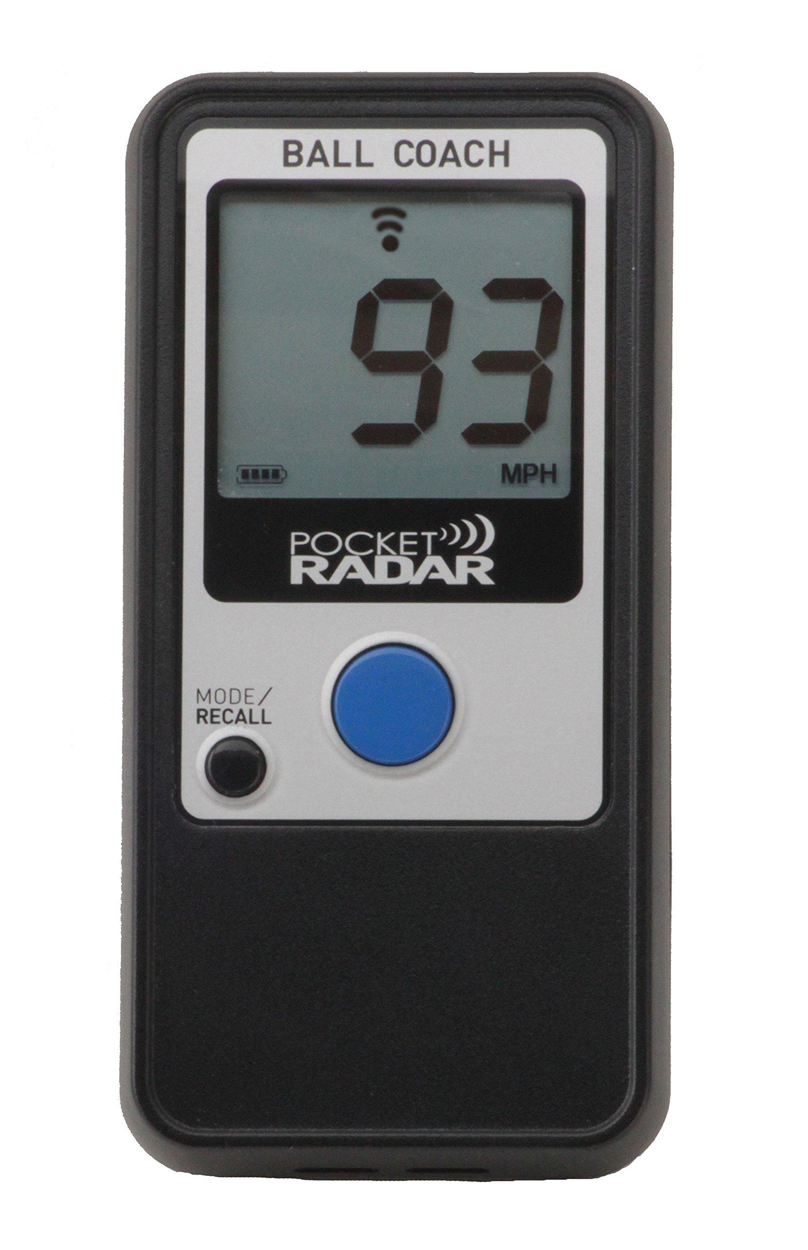 Pocket Radar Ball Coach / Pro-Level Speed Training Tool and Radar Gun by Pocket Radar