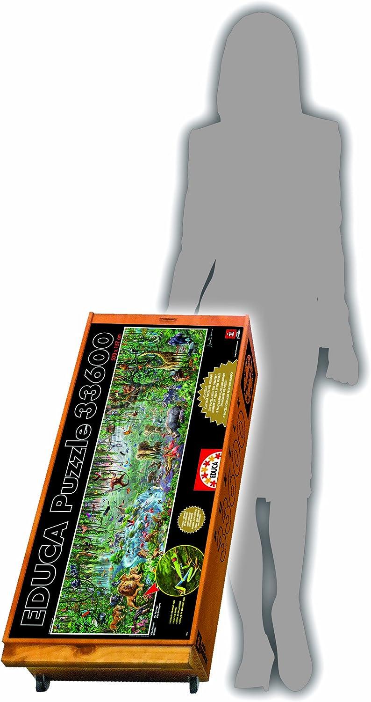 Educa 16066 Wild Life Puzzle, 33600