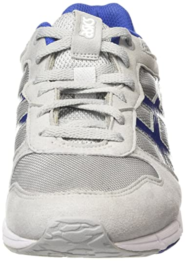 Shaw Runner, Zapatillas Unisex Adulto, Gris (Light Grey/Monaco Blue 1349), 39 EU Asics