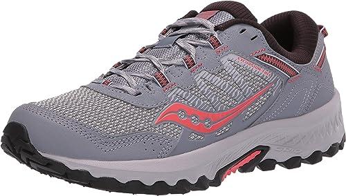 Saucony Excursion TR 13 Grey/Coral, Zapatillas de Atletismo para ...