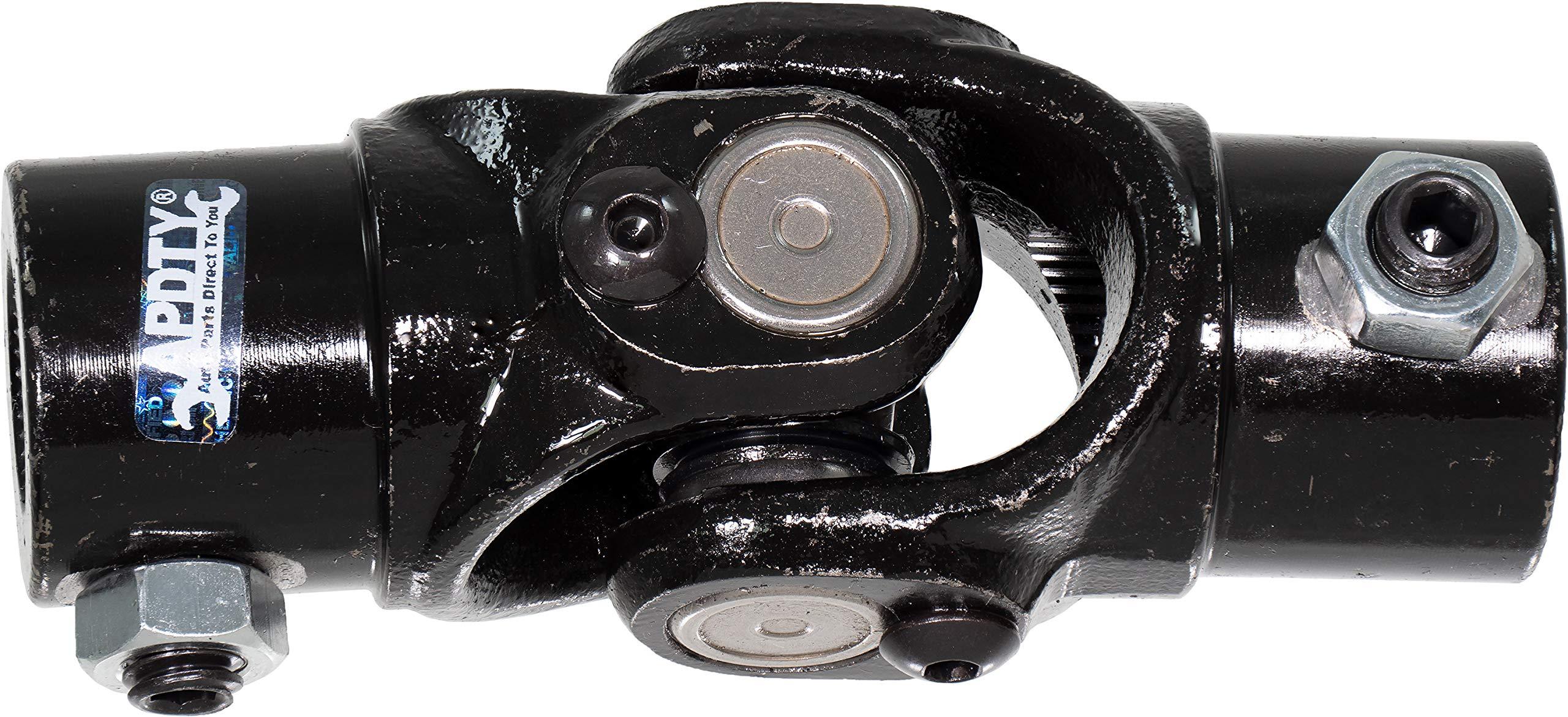 APDTY 141587 Bolt-On Steering Shaft Universal U-Joint 5/8'' x 5/8'' 36 Spline