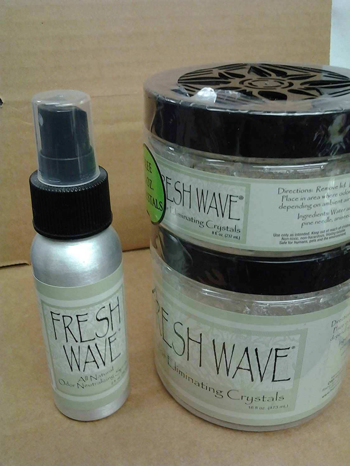 Fresh Wave Natural Odor Eliminator ' Value Kit' Holiday Promo