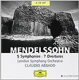Mendelssohn : Symphonies et ouvertures