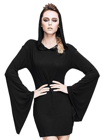 Amazon Steampunk Sexy Hoodie Dress Gothic Punk Tops Renaissance