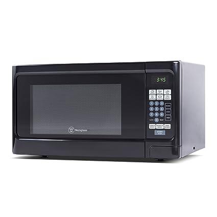 Superbe Westinghouse, WCM11100B, Countertop Microwave Oven, 1000 Watt, 1.1 Cubic  Feet, Black