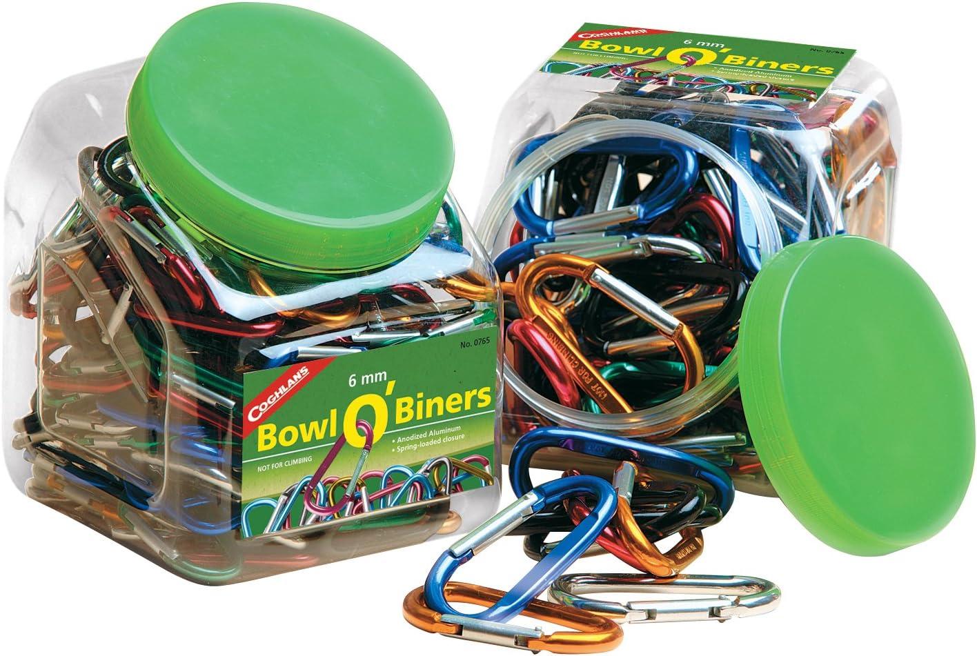 Coghlans 6mm Bowl OBiners Bulk Pack, 174 Biners