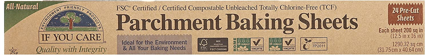 If You Care Parchment Paper Sheets 071449-3