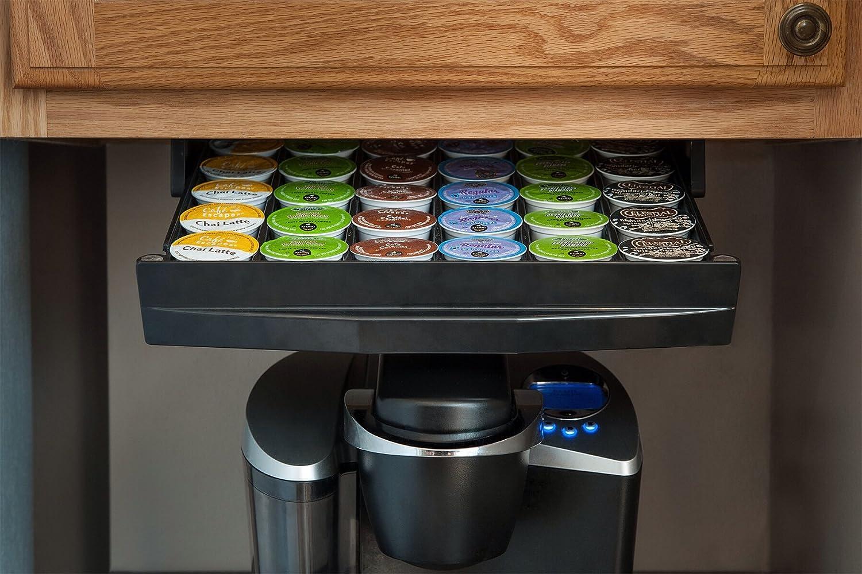 Konceal   Keurig K Cup Under The Cabinet Storage Drawer: Amazon.com:  Grocery U0026 Gourmet Food