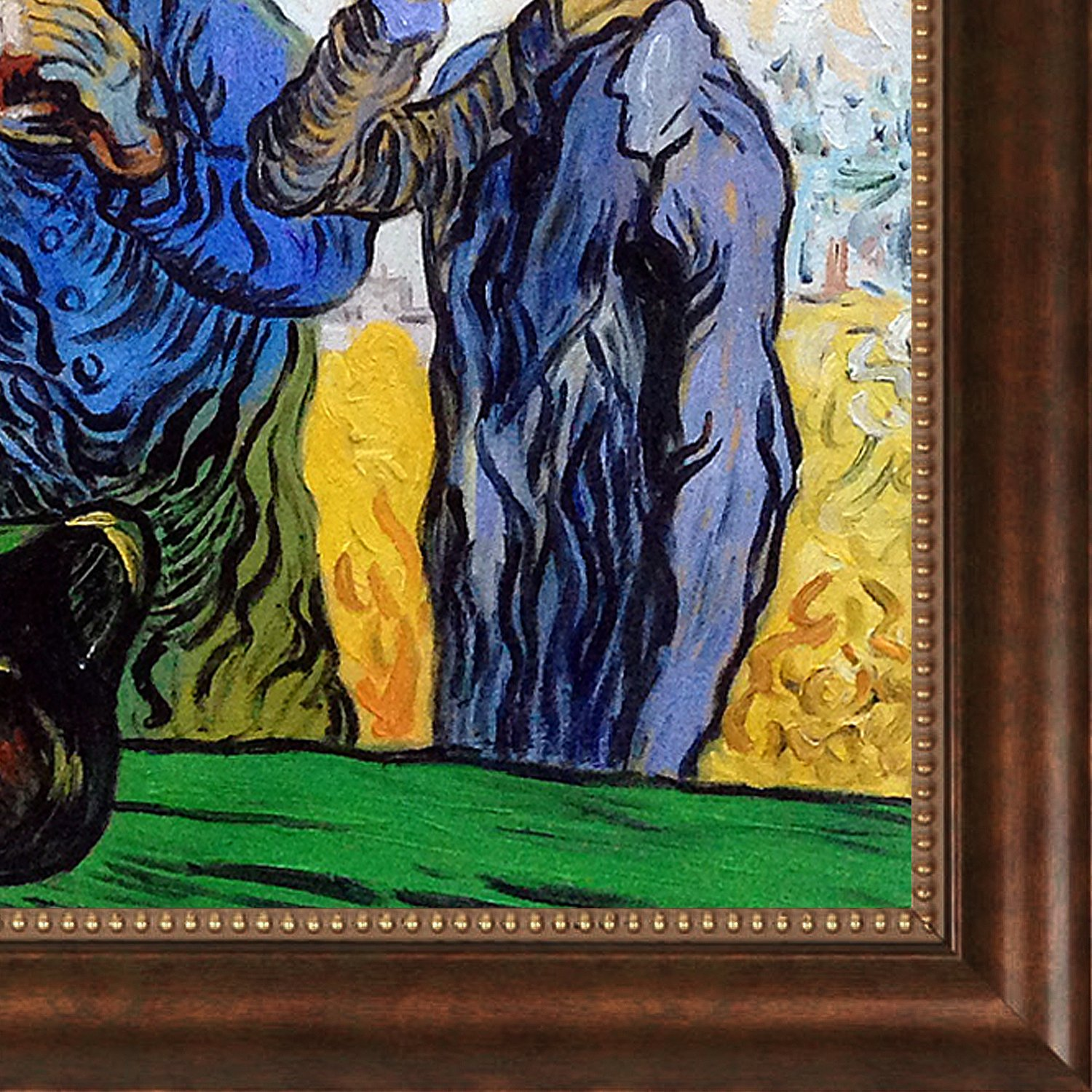 overstockArt The Drinkers After Daumier 1890 by Van Gogh with Verona Cafe Frame
