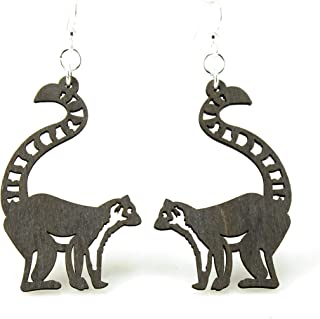 product image for Ring-Tailed Lemur Earrings
