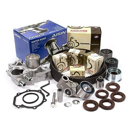 Amazon.com: Fits 04-09 Subaru Saab Turbo 2.5 DOHC 16V EJ255 EJ257 Timing Belt Kit AISIN Water Pump: Automotive