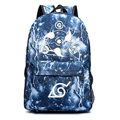 YOYOSHome Anime Naruto Cosplay Luminous Daypack Backpack School Bag: Computers & Accessories