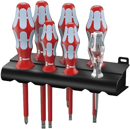 3 opinioni per Wera 05022728001- Assortimento di cacciaviti Kraftform Stainless VDE in acciaio