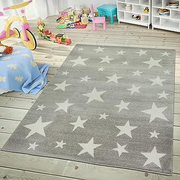 TT Home Tapis Chambre Enfant Et Adolescent Design Ciel Étoilé Pastel ...