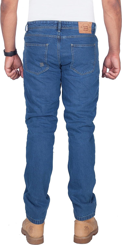 Kostenlose Protektoren Enthalten HB Aramid Verst/ärkte Herren-Motarrad-Jeans 5005