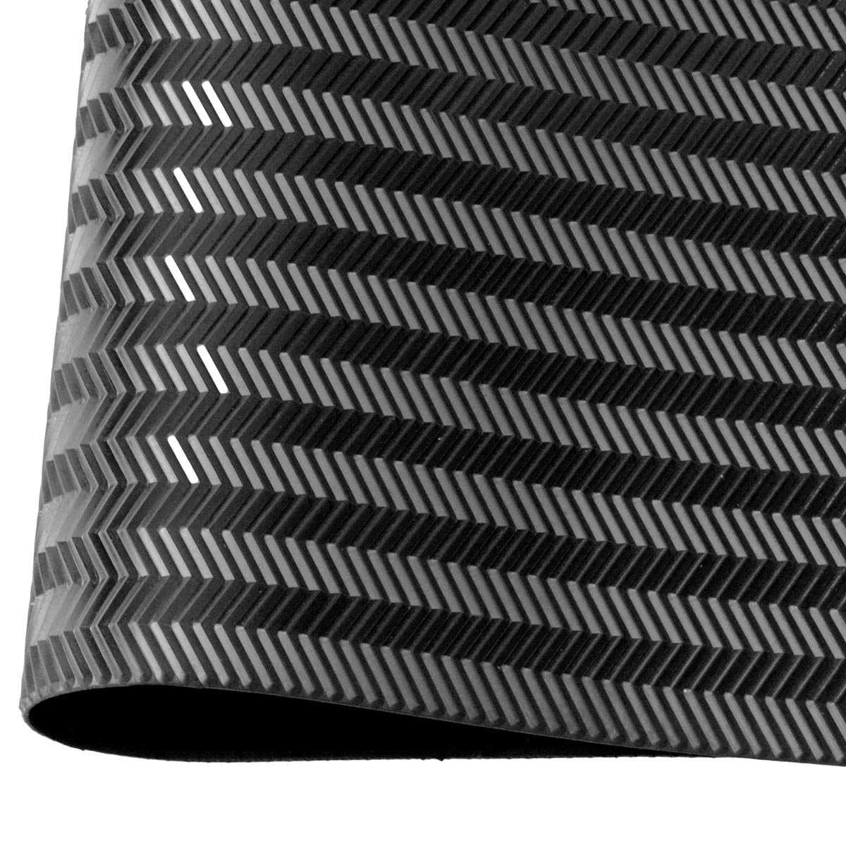 Black shoe rubber soling sheet - 1/8'' thickness Shoe soles repairing rubber sheet. Shoes bottom repairing material by EZ ShoePAD (Image #1)