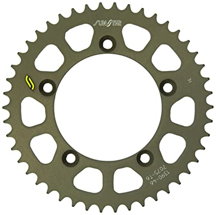 Sunstar 5-139046 Works Triplestar 46-Teeth 420 Chain Size Rear Aluminum Sprocket