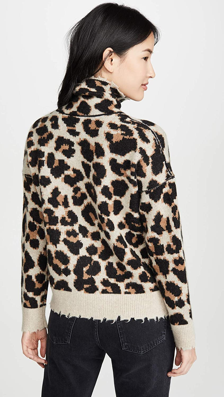 Zadig /& Voltaire Womens Gillian C Leo Cashmere Sweater