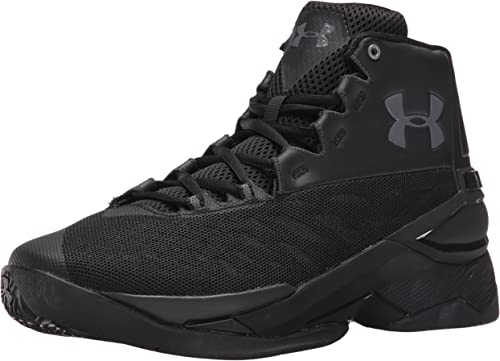 Under Armour Curry 1 LUX Mid LTH Basketball Sneaker schwarz 1296616-001
