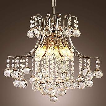 Moderne Del Cristal Lustre Pendentif Lampe Plafond Eclairage 2018