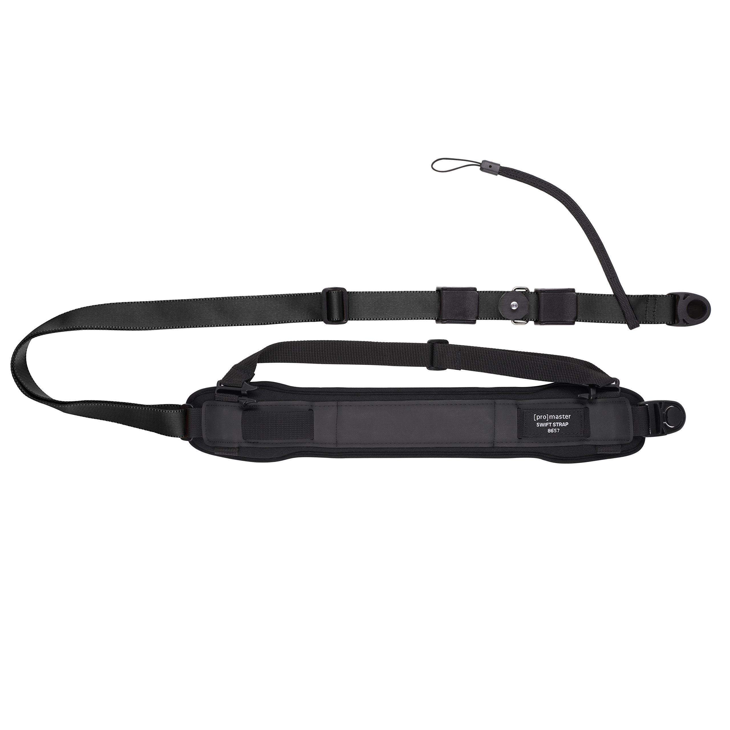 Promaster Swift Strap 2 HD for Professional DSLR - Black by ProMaster