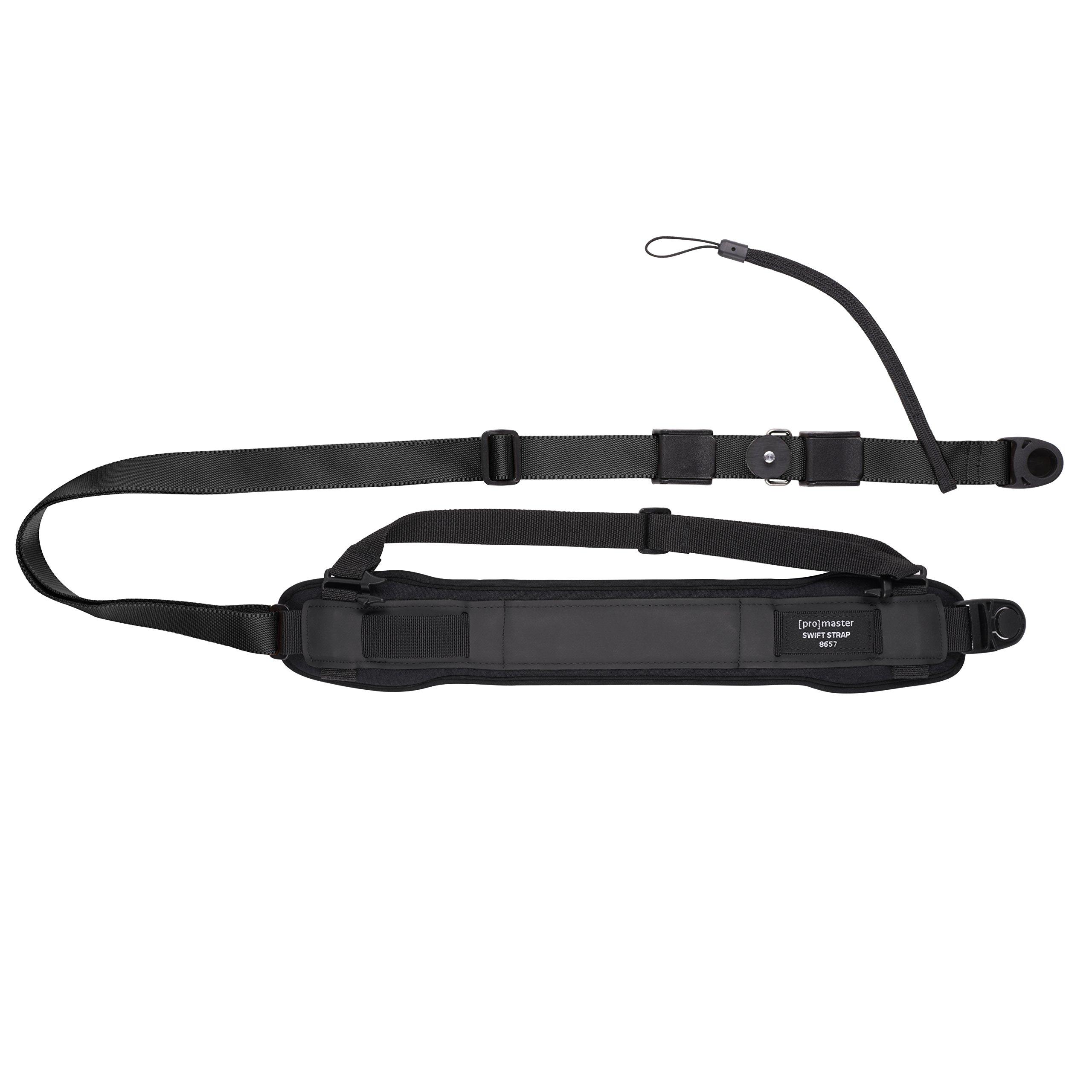Promaster Swift Strap 2 HD for Professional DSLR - Black
