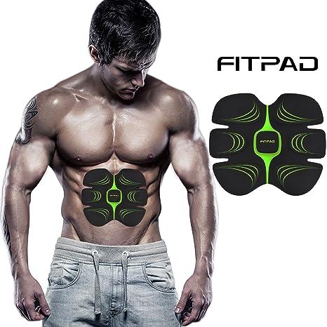 FITPAD Máquina Abdominal Inteligente, Ejercicios de Musculación Automática Individualización Invisible para Hombre y Mujer Dispositivo